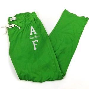 Abercrombie & Fitch Zip Leg Jogger Sweat Pants